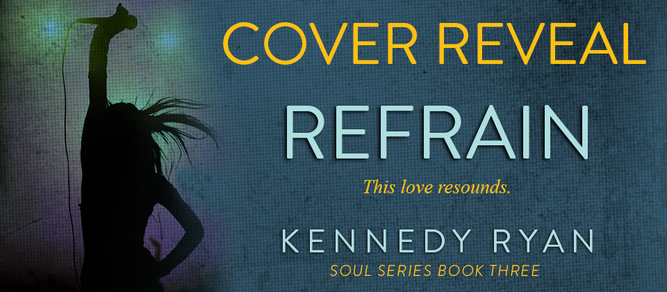 Cover Reveal banner Refrain